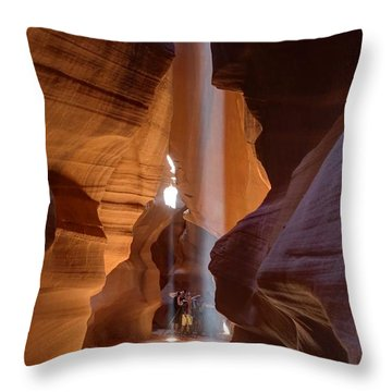 Enchanted Cathedral Throw Pillow