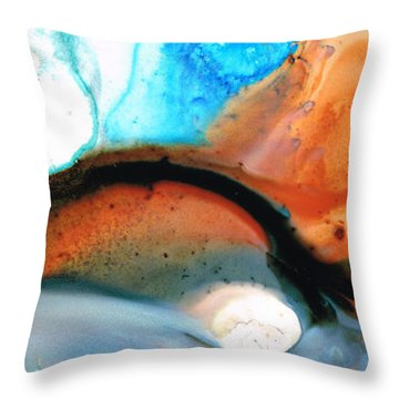 Enchanted Earth Throw Pillow by Sharon Cummings