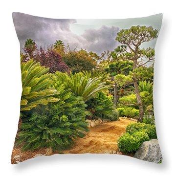 Enchanted Garden 1 Throw Pillow
