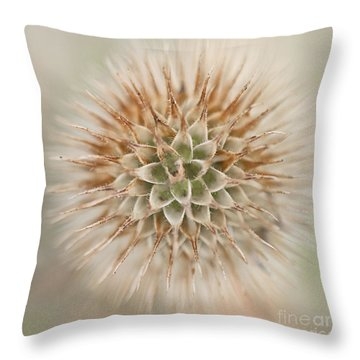 Enchanted Thistle Throw Pillow