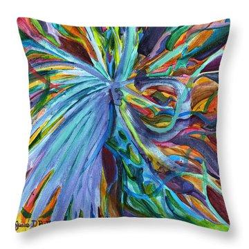 Enchanted Way Throw Pillow