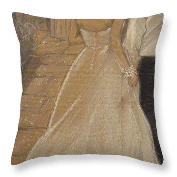 Enchanted Wedding Night Throw Pillow
