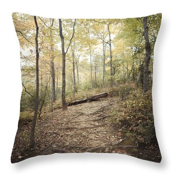 Enchanting Forest Throw Pillow