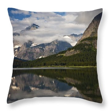 Enchanting Swiftcurrent Throw Pillow