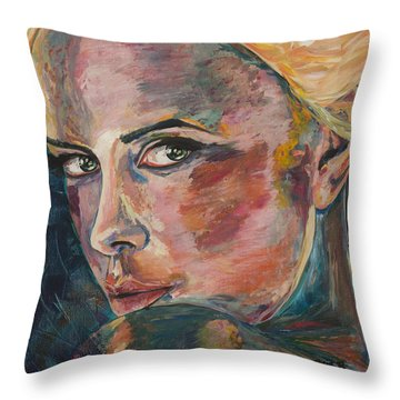 Enchantress Of Florence Throw Pillow