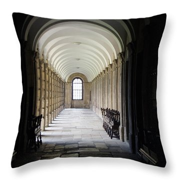 End Of Term Throw Pillow