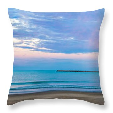 End Of The Blue Hour Throw Pillow