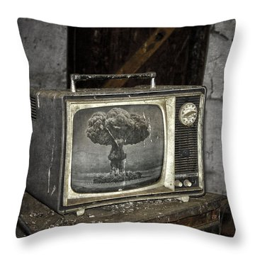 End Of The Show  Throw Pillow