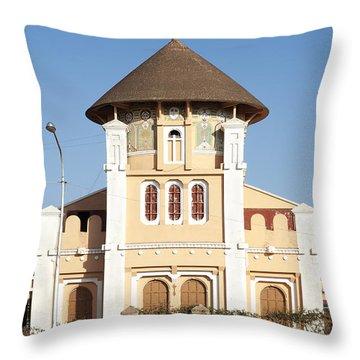 enda Mariam cathedral in asmara eritrea Throw Pillow
