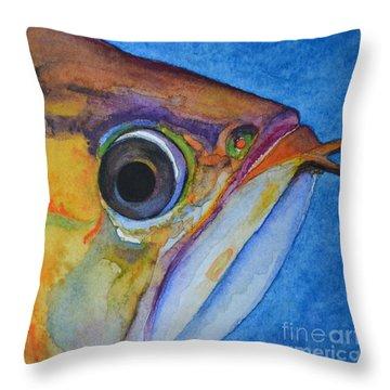 Endangered Eye IIi Throw Pillow