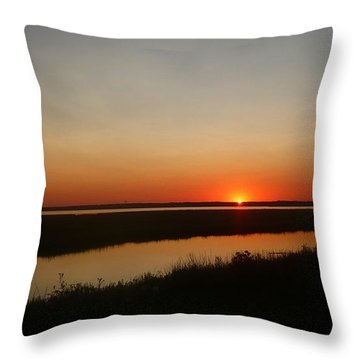 Ending Of A Day Throw Pillow