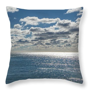 Endless Clouds I Throw Pillow by Jon Glaser