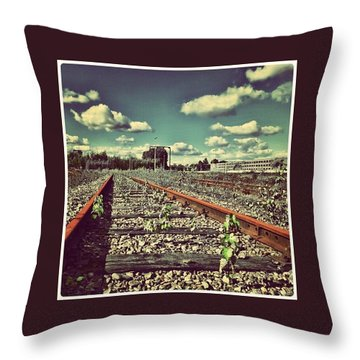 Endless Throw Pillow by Hans Fotoboek