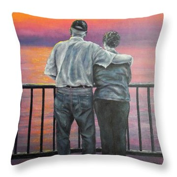 Endless Love Throw Pillow by Susan DeLain