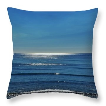 Endless Ocean  Throw Pillow