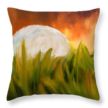 Endless Pursuit Throw Pillow by Lourry Legarde