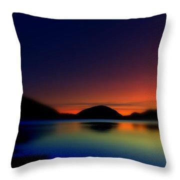 Endless Sleep Throw Pillow by Greg DeBeck