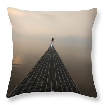 Endlessly Throw Pillow by Joana Kruse