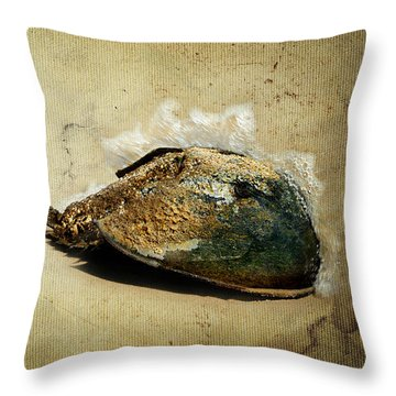 Endurance Throw Pillow by Rebecca Sherman