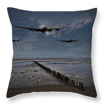 Enemy Coast Ahead Skipper Throw Pillow