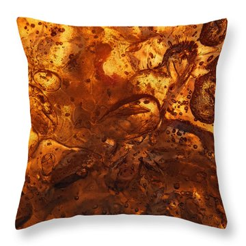 Energetic Throw Pillow by Sami Tiainen