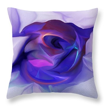 Energing Artist Throw Pillow