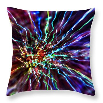 Energy 2 - Abstract Throw Pillow