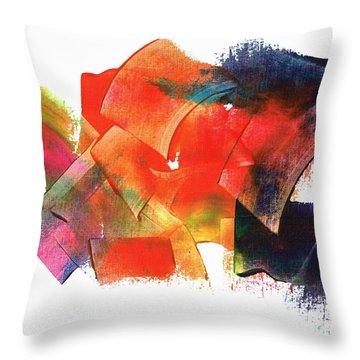 Energy Abundance Throw Pillow