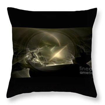 Energy Breaks Throw Pillow by Peter R Nicholls