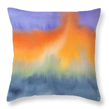 Energy Force Throw Pillow by Susan  Dimitrakopoulos