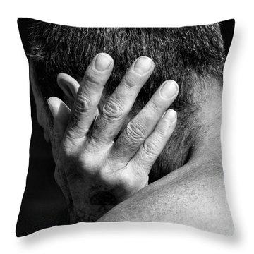 Enfolding Throw Pillow