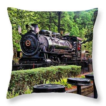 Engine 102 Throw Pillow