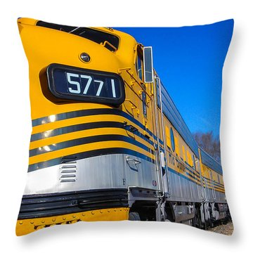 Throw Pillow featuring the photograph Engine 5771 by Shannon Harrington