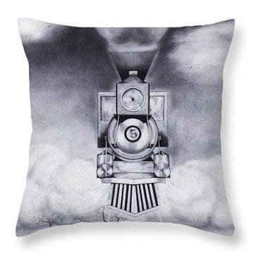 Engine No. 5 Throw Pillow