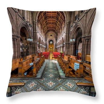 English Church Throw Pillow