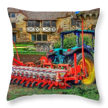 English Countryside Throw Pillow by L Wright