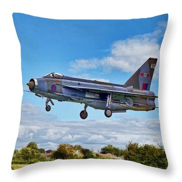 English Electric Lightning Throw Pillow