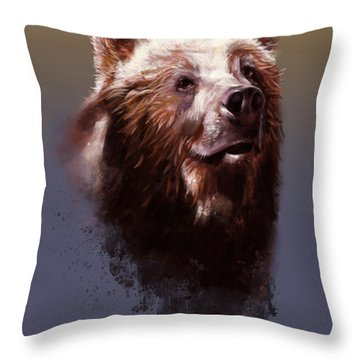 Enjoy The Sun Throw Pillow