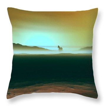 Enjoying The Moment Throw Pillow