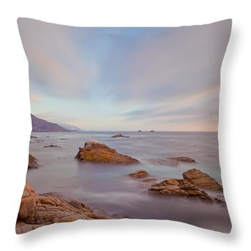 Throw Pillow featuring the photograph Enlightment by Jonathan Nguyen
