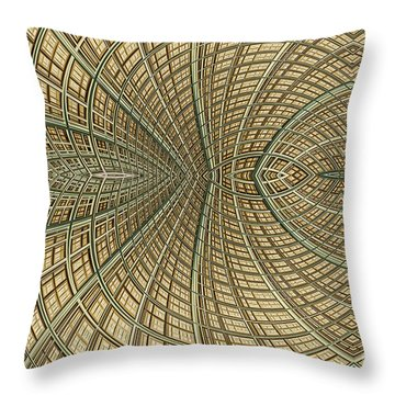 Enmeshed Throw Pillow by John Edwards
