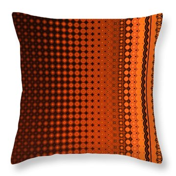 Enmeshed Throw Pillow by Judi Suni Hall