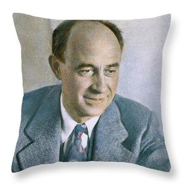 Enrico Fermi (1901-1954) Throw Pillow by Granger