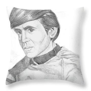 Ensign Pavel Chekov Throw Pillow