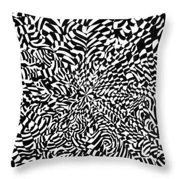 Entangle Throw Pillow