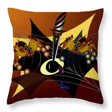 Tensions Throw Pillow