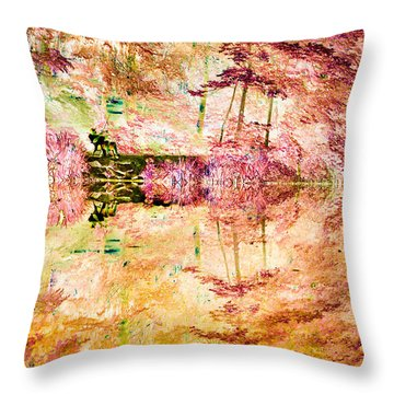 Entangled Throw Pillow by William Beuther