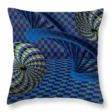 Entanglement Throw Pillow