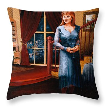 Delaina Throw Pillow