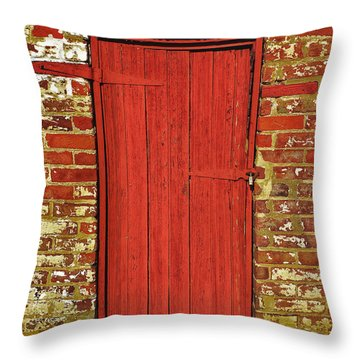 Enter History Throw Pillow